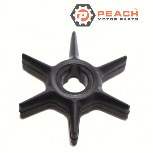 Peach Motor Parts PM-47-42038Q02 Impeller, Water Pump; Replaces Mercury Marine®: 47-42038Q02, 47-42038 2, 47-420382, 47-42038 1, 47-420381, Sierra®: 18-3062, Mallory®: 9-45039, CEF®: 500318, GL
