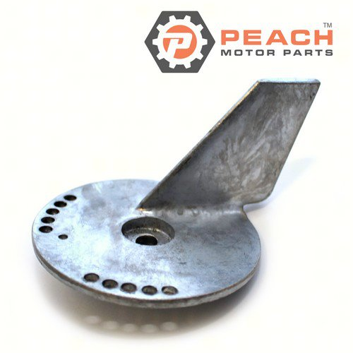 Peach Motor Parts PM-55125-90J01 Anode, Trim Tab Lower Unit (Zinc); Replaces Suzuki®: 55125-90J01, 55125-90J00