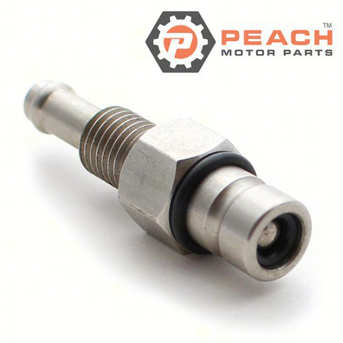 Peach Motor Parts PM-65720-985L1 Fuel Connector (11 mm barb) Male; Replaces Suzuki®: 65720-985L1, 65720-985L0, 65720-98521, 65720-98520, 65720-98500, 65720-98501, 65720-98502
