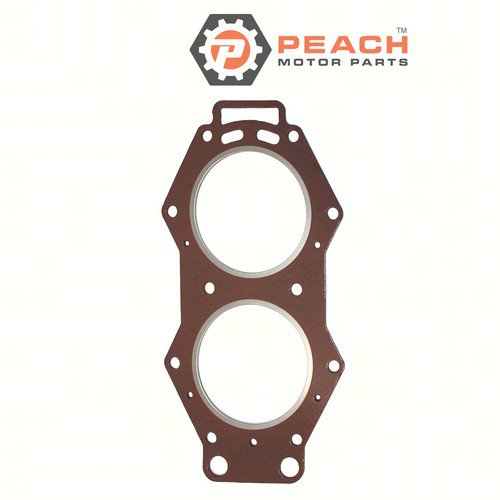 Peach Motor Parts PM-6E5-11181-A2-00 Gasket, Cylinder Head; Replaces Yamaha®: 6E5-11181-A2-00, 6E5-11181-A1-00, 6E5-11181-A0-00, 6E5-11181-02-00, 6E5-11181-01-00, Sierra®: 18-3832, GLM®: 34960,