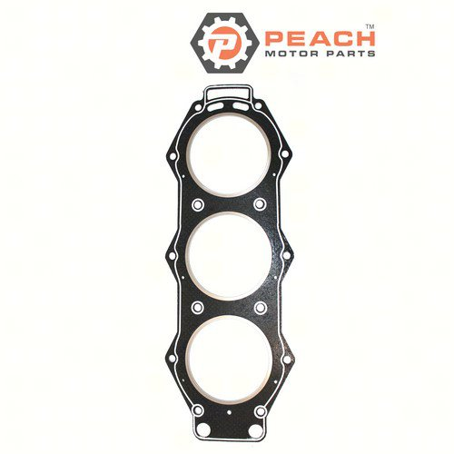 Peach Motor Parts PM-6G5-11181-A3-00 Gasket, Cylinder Head; Replaces Yamaha®: 6G5-11181-A3-00, 6G5-11181-A2-00, 6G5-11181-A1-00, 6G5-11181-A0-00, 6G5-11181-01-00, 6G5-11181-00-00
