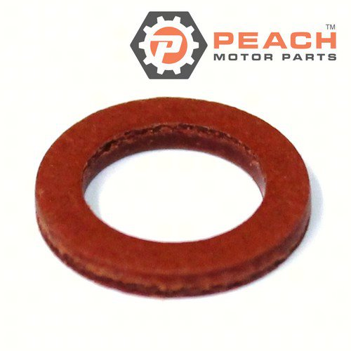 Peach Motor Parts PM-90430-08020-00 Gasket, Lower Unit Gearcase Fill & Drain Screw; Replaces Yamaha®: 90430-08003-00, 90430-08020-00, 604-45342-00-00, 90430-08801-00, Mercury Marine®: 27-81987