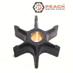 Peach Motor Parts PM-0385072 Impeller, Water Pump; Replaces Johnson® Evinrude® OMC®: 0385072, 385072, 0383334, 383334, Sierra®: 18-3044, Mallory®: 9-45220, GLM®: 89612