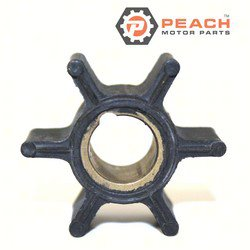 Peach Motor Parts PM-0386084 Impeller, Water Pump; Replaces Johnson® Evinrude® OMC®: 0386084, 386084, Sierra®: 18-3050, GLM®: 89770
