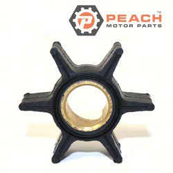 Peach Motor Parts PM-0395289 Impeller, Water Pump; Replaces Johnson® Evinrude® OMC®: 0395289, 395289, Sierra®: 18-3051