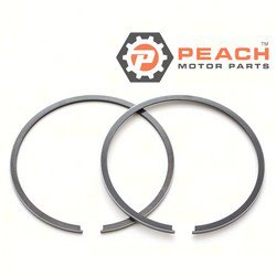 Peach Motor Parts PM-0396377 Piston Ring Set (Standard); Replaces Johnson Evinrude OMC®: 0396377, 396377, 0385807, 385807, Sierra®: 18-3910, GLM®: 24240, Mallory®: 9-54412, Wiseco®: 3000KD