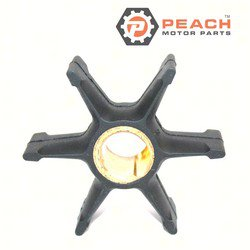 Peach Motor Parts PM-0396809 Impeller, Water Pump; Replaces Johnson® Evinrude® OMC®: 0396809, 396809, 0777214, 777214, Sierra®: 18-3368, Mallory®: 9-45208, CEF®: 500346