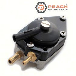 Peach Motor Parts PM-0438555 Fuel Pump, Mechanical; Replaces Johnson Evinrude OMC®: 0438555, 438555, 0433386, 433386, Sierra®: 18-7353, Mallory®: 9-35353