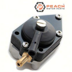 Peach Motor Parts PM-0438556 Fuel Pump, Mechanical; Replaces Johnson Evinrude OMC®: 0438556, 438556, 0398387, 398387, 0432451, 432451, 0433387, 433387, 0395850, 395850, 0398338, 398338, 0382354