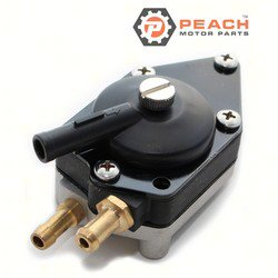 Peach Motor Parts PM-0438559 Fuel Pump, Mechanical; Replaces Johnson Evinrude OMC®: 0438559, 438559, 0433390, 433390, 0388555, 388555, 0398678, 398678, 0398385, 398385, 0395718, 395718, 0383765