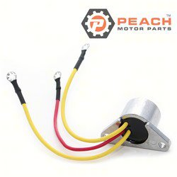 Peach Motor Parts PM-0580841 Rectifier; Replaces Johnson Evinrude OMC®: 0580841, 580841, 0582307, 582307, 0582399, 582399, 0583408, 583408, Sierra®: 18-5708, Arco®: AR103, CDI®: 153-3408, GLM®: