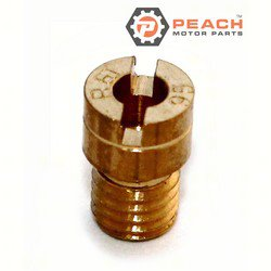 Peach Motor Parts PM-09491-95008 Main Jet; Replaces Suzuki®: 09491-95008