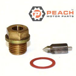 Peach Motor Parts PM-13370-28110 Needle Valve Assembly; Replaces Suzuki®: 13370-28110