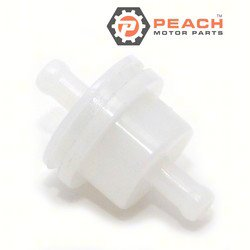 Peach Motor Parts PM-15410-98500 Filter, Fuel; Replaces Suzuki®: 15410-98500, Johnson® Evinrude® OMC®: 5032238, Sierra®: 18-7719