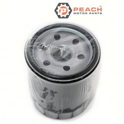 Peach Motor Parts PM-16510-61A20-MHL Filter, Oil; Replaces Suzuki®: 16510-61A20-MHL, 16510-90J00, 16510-61A21, 16510-61A20, 16510-61A01, Johnson® Evinrude® OMC®: 5033539, 778886, 0778886, Sierr
