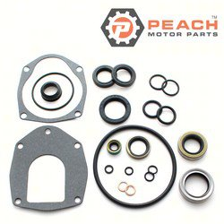 Peach Motor Parts PM-26-816575A-3 Seal Kit, Outdrive Lower Unit; Replaces Mercury Marine® Mercuiser®: 26-816575A 3, 26-816575A3, 26-816575A 1, 26-816575A1, Sierra®: 18-2646-1, Mallory®: 9-74206; PM-26-816575A-3