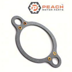 Peach Motor Parts PM-27-53045-1 Gasket, Thermostat Housing; Replaces Mercury Marine® Mercuiser®: 27-53045 1, 27-530451, 27-53045, 27-53045B1, 27-33179, FI5000096, FI1101276, F10077105, FI110129