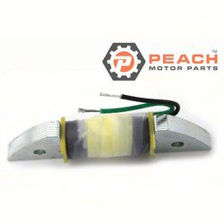 Peach Motor Parts PM-32140-93900 Coil, Charge Ignition; Replaces Suzuki®: 32140-93900