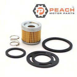Peach Motor Parts PM-35-8M0046752 Filter, Fuel Pump; Replaces Mercury Marine® Mercuiser®: 35-8M0046752, 35-803897Q 1, 35-803897Q1, 35-11004Q 2, 35-11004Q2, 35-11004A1, 35-803897, Sierra®: 18-77