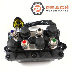 Peach Motor Parts PM-61A-81950-01-00 Relay Assembly, Trim Tilt; Replaces Yamaha®: 61A-81950-01-00, 61A-81950-00-00