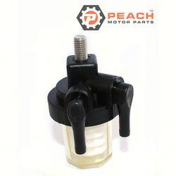 Peach Motor Parts PM-61N-24560-00-00 Fuel Filter Assembly; Replaces Yamaha®: 61N-24560-10-00, 61N-24560-00-00, Sierra®: 18-79910