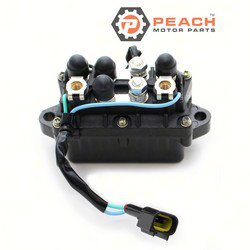 Peach Motor Parts PM-63P-81950-00-00 Relay Assembly, Trim Tilt; Replaces Yamaha®: 63P-81950-00-00
