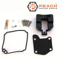 Peach Motor Parts PM-63V-W0093-00-00 Carburetor Repair Kit (For single carburetor); Replaces Yamaha®: 63V-W0093-00-00, WSM®: 600-70