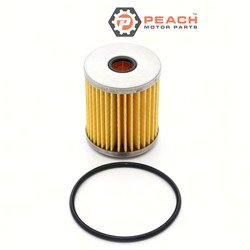 Peach Motor Parts PM-65910-98J00 Filter, Fuel/Water Seperator; Replaces Suzuki®: 65910-98J00, 65910-98J00-000