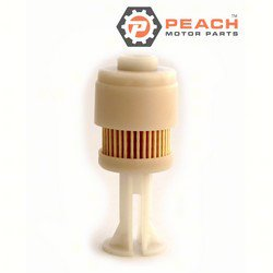 Peach Motor Parts PM-65L-24563-00-00 Fuel Filter; Replaces Yamaha®: 65L-24563-00-00, Suzuki®: 15412-93J00, Mercury Marine®: 35-888289T2, 35-888289T 2, Johnson® Evinrude® OMC®: 5065695, Sierra®: