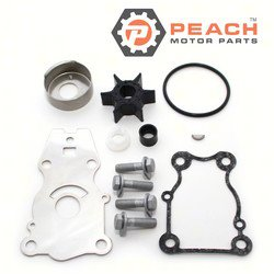 Peach Motor Parts PM-66T-W0078-00-00 Water Pump Repair Kit (No Housing); Replaces Yamaha®: 66T-W0078-00-00, Sierra®: 18-3440, Mallory®: 9-48610