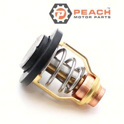 Peach Motor Parts PM-67F-12411-01-00 Thermostat (60 C); Replaces Yamaha®: 67F-12411-01-00, 67F-12411-00-00, 6CB-12411-00-00, Sierra®: 18-3632