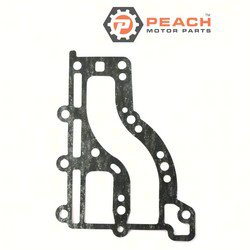 Peach Motor Parts PM-682-41112-A1-00 Gasket, Exhaust; Replaces Yamaha®: 682-41112-A1-00, 682-41114-00-00, 682-41112-00-00, Sierra®: 18-99096; PM-682-41112-A1-00