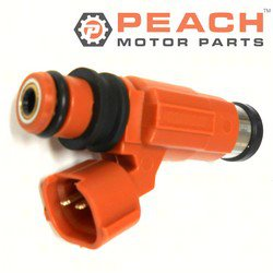 Peach Motor Parts PM-68V-8A360-00-00 Fuel Injector Assembly; Replaces Yamaha®: 68V-8A360-00-00, 68V-13761-00-00, Mitsubishi®: MD319791, 731011U, Chevrolet Chevy®: 91174472, Nikki®: INP771, INP-