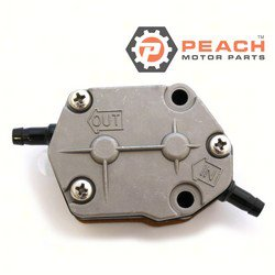 Peach Motor Parts PM-692-24410-00-00 Fuel Pump, Mechanical; Replaces Yamaha®: 692-24410-00-00, 6A0-24410-05-00, 6A0-24410-04-00, 6A0-24410-03-00, 6A0-24410-02-00, 6A0-24410-01-00, 6A0-24410-00-