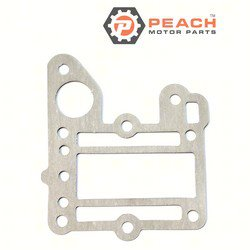 Peach Motor Parts PM-6E0-41112-A1-00 Gasket, Exhaust; Replaces Yamaha®: 6E0-41112-A1-00, 6E0-41112-01-00; PM-6E0-41112-A1-00