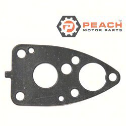 Peach Motor Parts PM-6E0-45315-A0-00 Gasket, Water Pump Base; Replaces Yamaha®: 6E0-45315-A0-00, 6E0-45315-00-00; PM-6E0-45315-A0-00