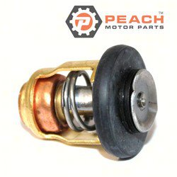 Peach Motor Parts PM-6E5-12411-30-00 Thermostat (50C); Replaces Yamaha®: 6E5-12411-30-00, 6E5-12411-20-00, 6E5-12411-10-00, 6H3-12411-00-00, 6H3-12411-01-00, 6H3-12411-10-00, 6H3-12411-11-00, 6