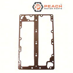 Peach Motor Parts PM-6E5-41112-A1-00 Gasket, Exhaust; Replaces Yamaha®: 6E5-41112-A1-00, 6E5-41112-A0-00, 6E5-41112-00-00