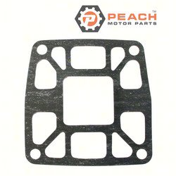 Peach Motor Parts PM-6E5-41134-A0-00 Gasket, Exhaust; Replaces Yamaha®: 6E5-41134-A0-00