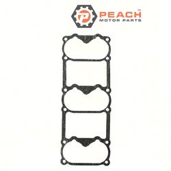 Peach Motor Parts PM-6G5-14483-01-00 Gasket, Intake; Replaces Yamaha®: 6G5-14483-A1-00, 6G5-14483-01-00, 6G5-14483-00-00, Sierra®: 18-99118; PM-6G5-14483-01-00