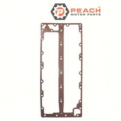 Peach Motor Parts PM-6G5-41112-A1-00 Gasket, Exhaust; Replaces Yamaha®: 6G5-41112-A1-00, 6G5-41114-A0-00, 6G5-41112-A0-00, 6G5-41112-00-00