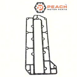 Peach Motor Parts PM-6H3-41114-A0-00 Gasket, Exhaust; Replaces Yamaha®: 6H3-41114-A0-00