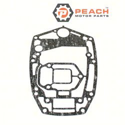 Peach Motor Parts PM-6H3-45114-A1-00 Gasket, Powerhead Base; Replaces Yamaha®: 6H3-45114-A1-00; PM-6H3-45114-A1-00