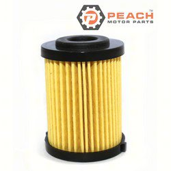 Peach Motor Parts PM-6P3-WS24A-01-00 Fuel Filter; Replaces Yamaha®: 6P3-WS24A-01-00, 6P3-WS24A-00-00, 6P3-24563-00-00, Sierra®: 18-79809