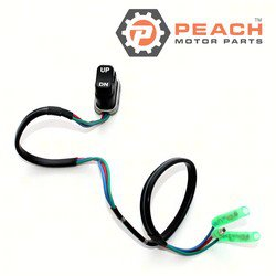 Peach Motor Parts PM-703-82563-02-00 Switch Assembly, Trim & Tilt; Replaces Yamaha®: 703-82563-02-00, 703-82563-01-00, 703-82563-00-00, 703-82536-00-00