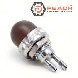 Peach Motor Parts PM-858763 Primer Bulb, Fuel; Replaces Mercury Marine®: 858763, 8168773, 8168772, 8168771, 816877, 684311, Mariner®: 858763, Sierra®: 18-7083; PM-858763