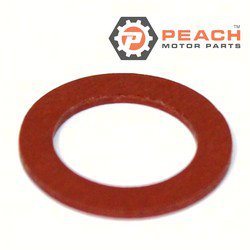 Peach Motor Parts PM-90430-14115-00 Gasket, Plug; Replaces Yamaha®: 90430-14115-00; PM-90430-14115-00