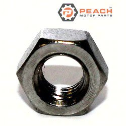 Peach Motor Parts PM-95380-06700-00 Nut; Replaces Yamaha®: 95380-06700-00, 95304-06700-00, 256-27218-00-00, 95301-06700-00, 95302-06700-00, 95303-06700-00, 98802-06300-00, 98803-06300-00, 98890; PM-95380-06700-00