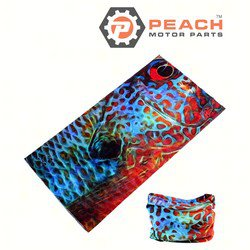 Peach Motor Parts PM-Gaiter-Fish1 Neck Gaiter Headwear Balaclava Bandana Scarf Face Shield Mask, Fish1; Replaces Buff®: Fishing, Outdoors, Under Armour®: Gaiter, Patagonia®: Neck Gaiter, Huk®: ; PM-Gaiter-Fish1