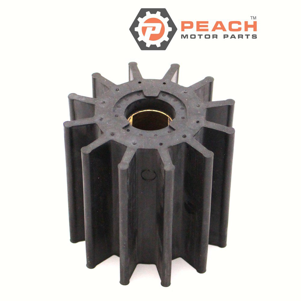 Peach Motor Parts PM-17370-0001 Impeller, Water Pump (Neoprene)